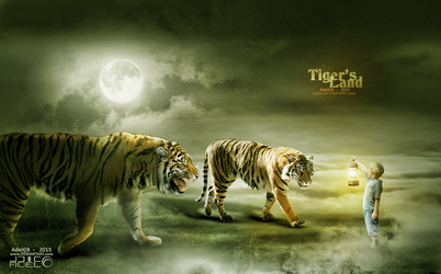 Tigers Land by AdelGB