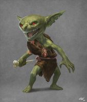 Rat Goblin by apathie