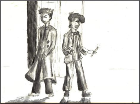 Doctor Who - Ten and Eleven by astropix