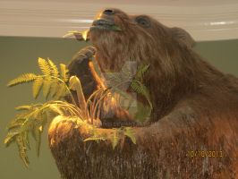 Fernbank MNH: Ground sloth II by Gilarah93