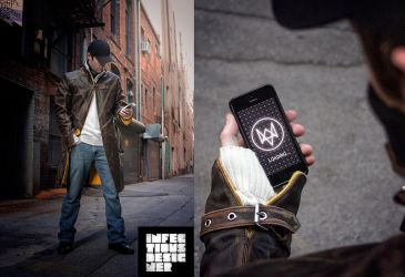 Watch Dogs - Aiden Pearce Cosplay by infectiousdesigner