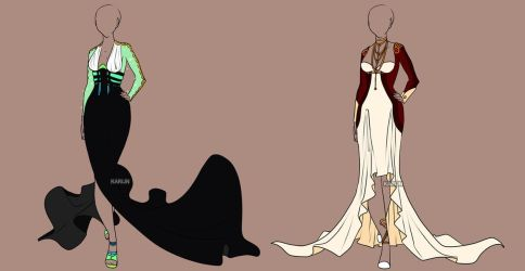 Fashion Adoptables Auction 13 - CLOSED by Karijn-s-Basement