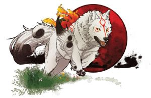 Okami Poster by thesketcher06