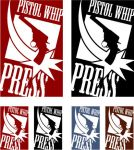 Pistol Whip Press Logo by cmkasmar