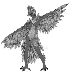 Harpy Adopt - OPEN by Its-Boe