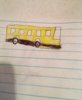 a bus i colored by Nadeeta
