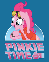 Pinkie Time Tee Shirt Design by xkappax