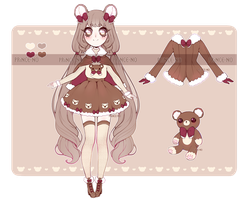 [ fluffy winter adopt | closed ] by prince-no