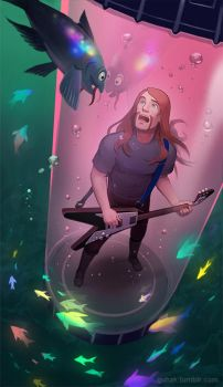 Metalocalypse - Underwater Friends by Okha