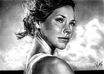 Freckles, Kate Austen by kristinaorjala