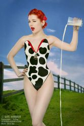 Cheeky Cow - Girl Armour by ladymorgana