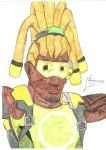 lucio portrait colour by negriwtf