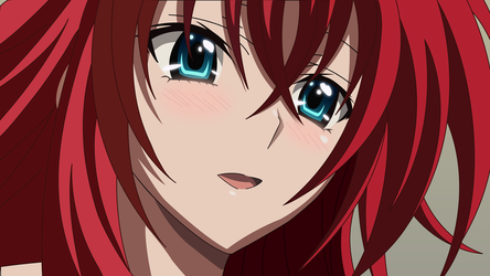 Rias-Gremory-Wallpaper by AxzlRose