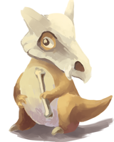 Cubone by Polariche