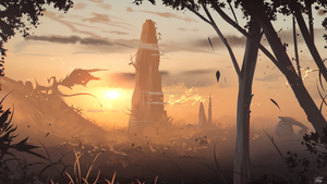 Somewhere in the distance by ryky