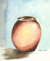 The Brown Vase by scamper