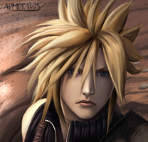 Cloud Strife by admdraws
