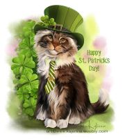 St. Patrick`s day by Kajenna