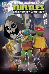 TMNT AA #6 Cover by Bloodzilla-Billy