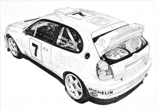 Toyota Corolla WRC by PaperGarage