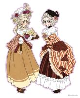 1770's Dresses by Seitou