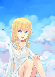 Zelda SS with video process by ragecndy