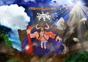 One Piece The King of the Beasts Yonko KAIDO 875 by Amanomoon