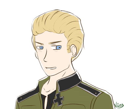 APH : Germany sketch.. by CafeDeVainilla