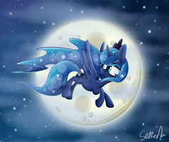 Woona Over the Moona by Slitherpon