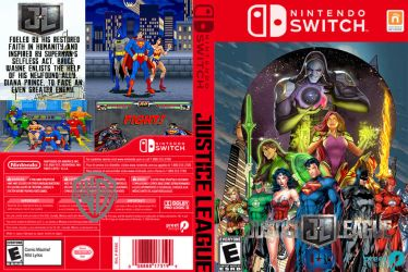 Justice League on Nintendo Switch by LOrdalie