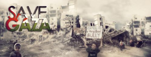 save gaza fb cover by wiwie11