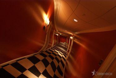 Hotel Hallway at 3am by dssken