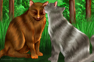 Caryl Cats by SweetSandy