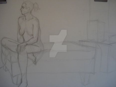 Figure II InClass Drawing 4 by PencilViking