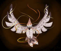PTS: Bird of Flames by ChocolateQuill