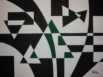 Equilateral Green by dtrammell