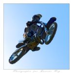 Motorbike in the sky - 008 by laurentroy
