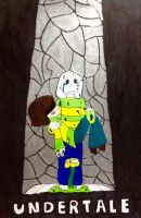 Undertale- Fallen by F0xyth3p1rat3f0x