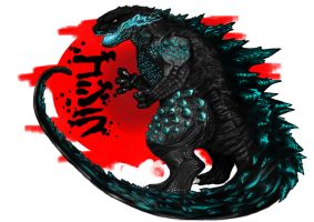 Gojira by MrWarrington
