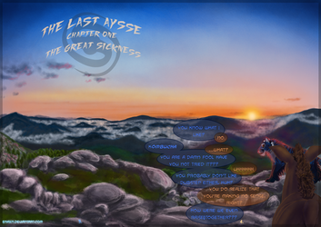 The Last Aysse: Ch1 Pages 3 and 4 by Enaxn