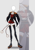 [CLOSED-Auction] Adoptable outfit #61 by Eggperon