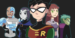 TEEN TITANS by RamyunKing