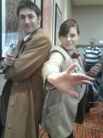 Doctor Who: Ten and Eleven by Texas-Guard-Chic