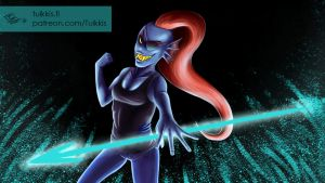 Undertale - Undyne by CPT-Elizaye
