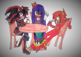 Nightshade, Kaira-na and Cherry-lee the team!!! by klaudiaberry