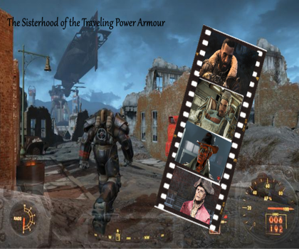 The Sisterhood of the Traveling Power Armour by Nyx-the-Pyromancer