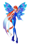 Bloom Dreamix png by TheDamnedFairy