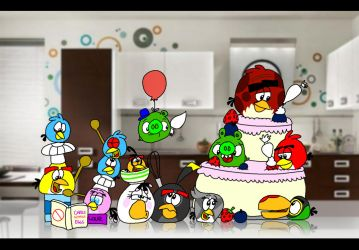 Cooking by the Book by AngryBirdsStuff