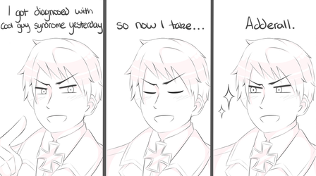 Prussia has Cool Guy Syndrome by MysterionRises6