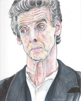 Capaldi on White by changewinds